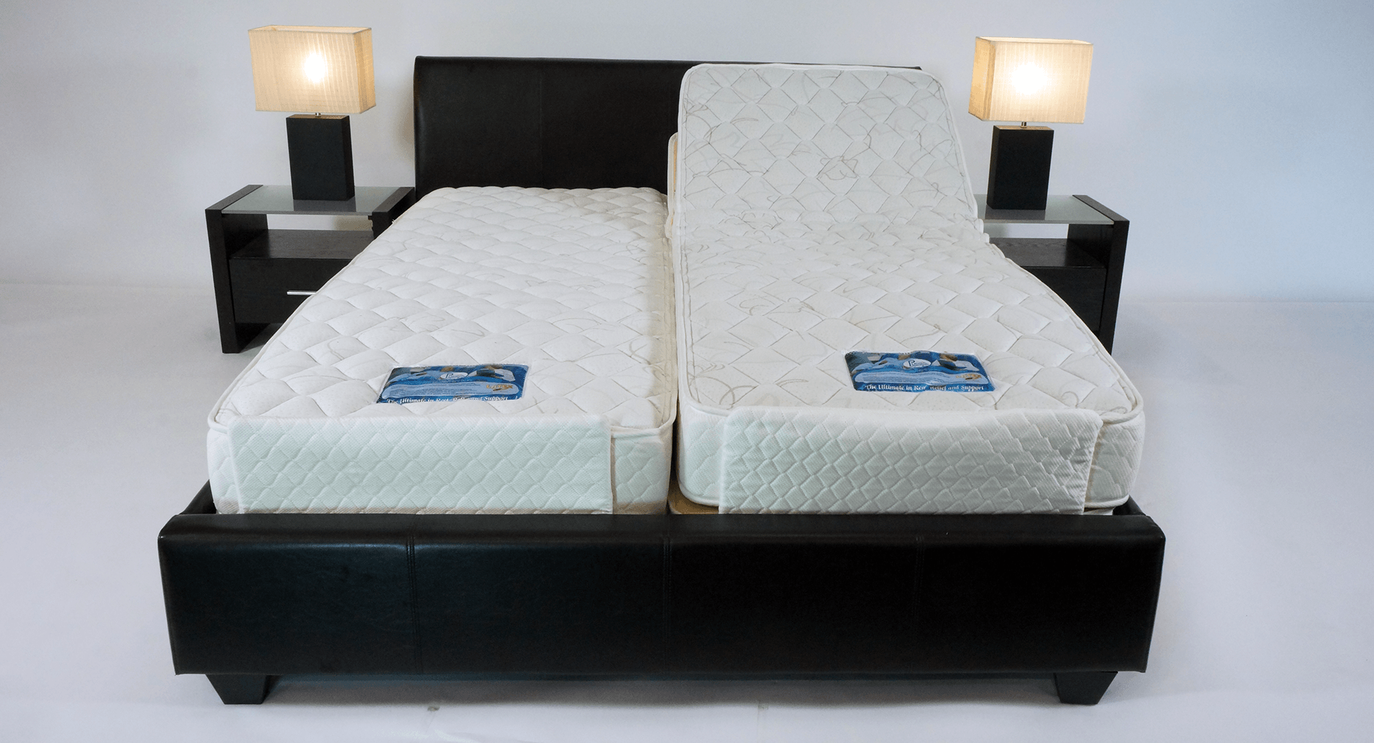 Plega queen sixe adjustable bed