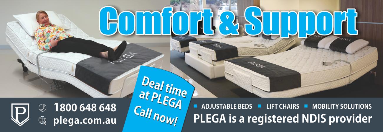 Deal time at Plega, adjustable beds.